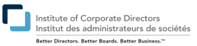 Director, Institute of Corporate Directors